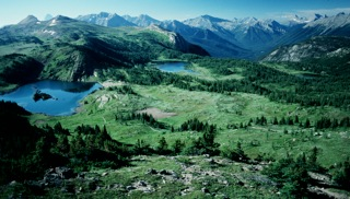 1. Sunshine vista Canadian Rockies