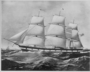 Sailing ship - Mary Fry 1862